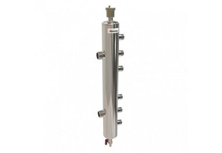 Гидравлический разделитель 85 кВт, 3 контура