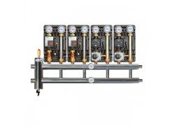 Распределительный коллектор с гидрострелкой 60 кВт, 3+1 контур