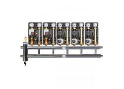 Распределительный коллектор с гидрострелкой 85 кВт, 5+1 контур