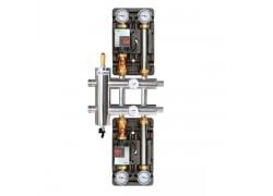 Распределительный коллектор с гидрострелкой 85 кВт, 3 контура