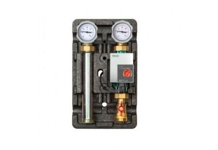"""Насосный модуль до 48 кВт ECO DK /DN25 (1"""") с насосом Grundfos UPS 25-60"""