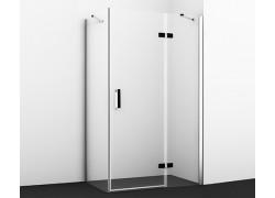 Aller 10H06RBLACK Душевой уголок, прямоугольник, с правой распашной дверью