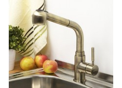 А8237 Смеситель для кухни с выдвижной лейкой