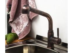 А8247 Смеситель для кухни с выдвижной лейкой