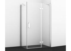 Aller 10H10R Душевой уголок, прямоугольник, с правой распашной дверью