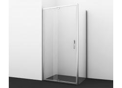 Berkel 48P07 Душевой уголок, прямоугольник, с универсальной распашной дверью