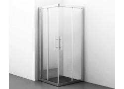 Amper 29S02 Душевой уголок, квадрат, с раздвижными дверьми