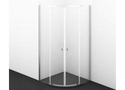Leine 35P01 Душевой уголок, сектор, с распашными дверьми
