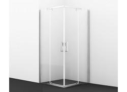 Leine 35P03 Душевой уголок, квадрат, с распашными дверьми