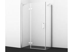 Aller 10H07L Душевой уголок, прямоугольник, с левой распашной дверью