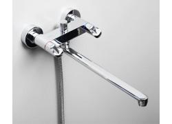 Lossa 1202L Смеситель для ванны с длинным изливом