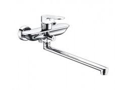 Dinkel 5802L Смеситель для ванны с длинным поворотным изливом